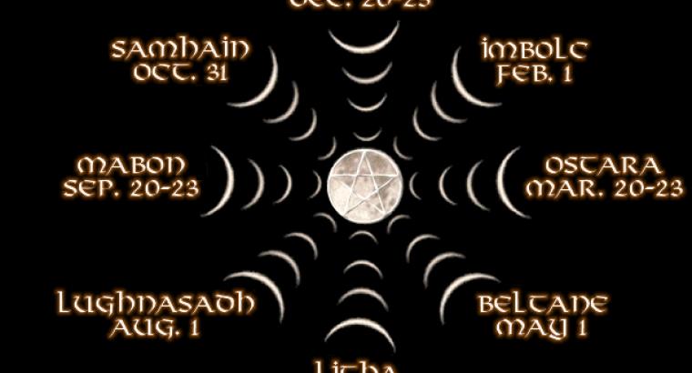 Calendario Esoterico.Calendario Esoterico Rituales Rituales Y Magia En El